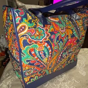 Vera Bradley Tote and Ditty Bag